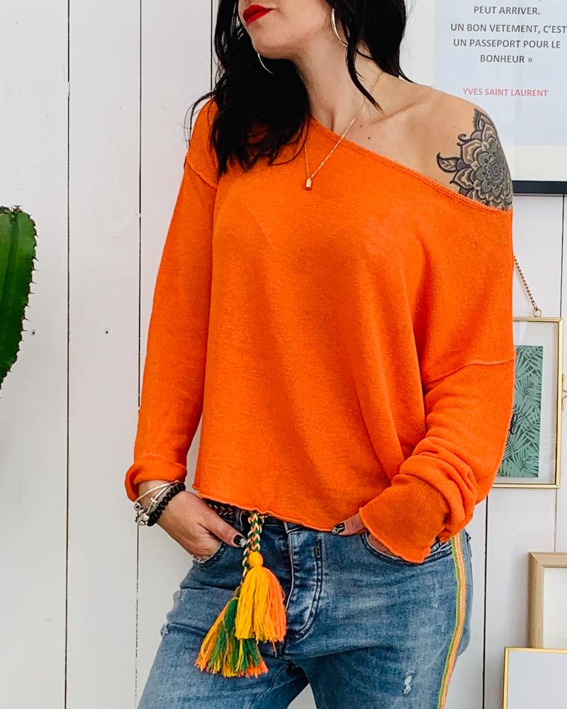 Pull AMANDA orange