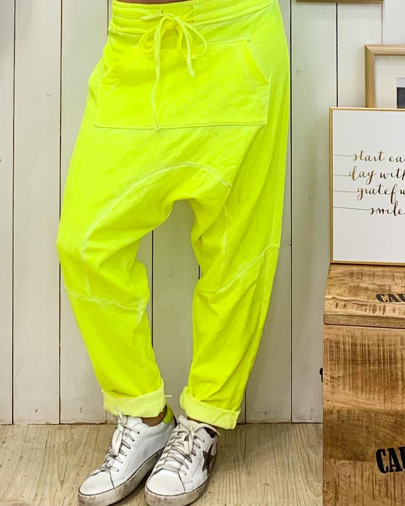 Jogging AXEL jaune