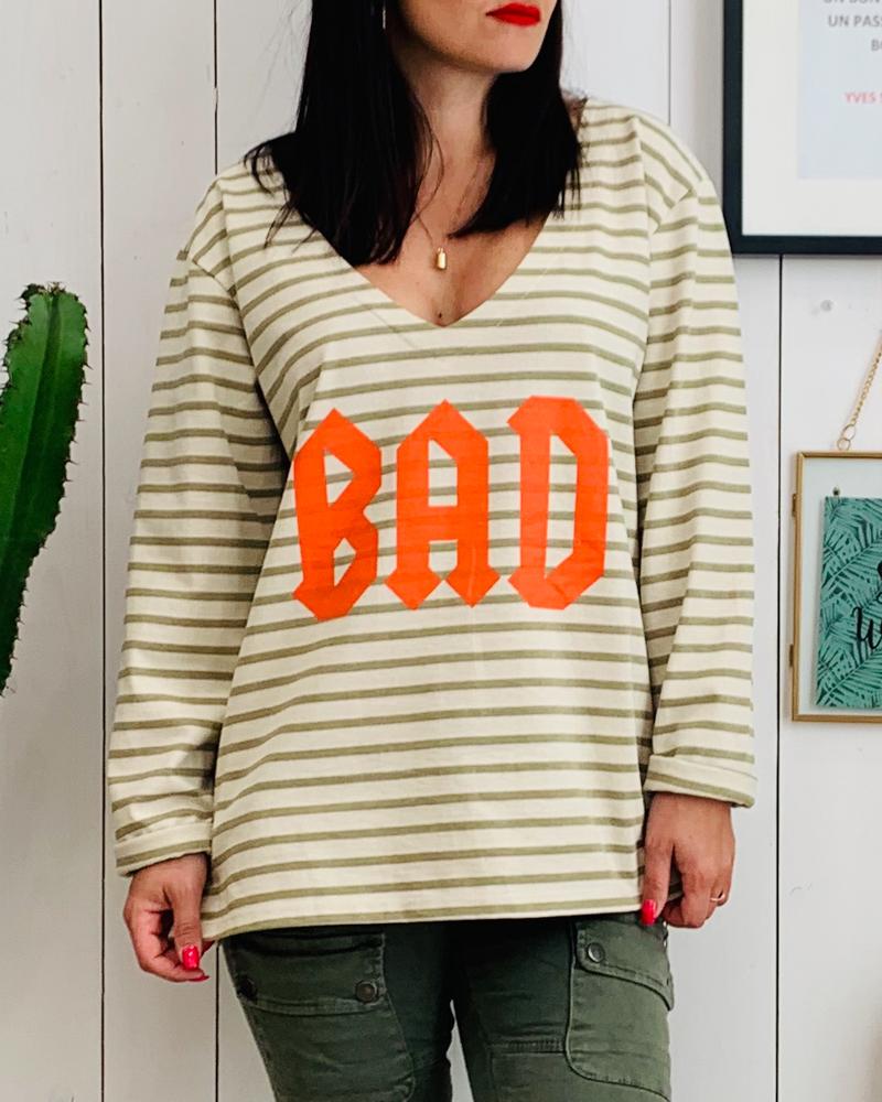Sweat fin BAD orange