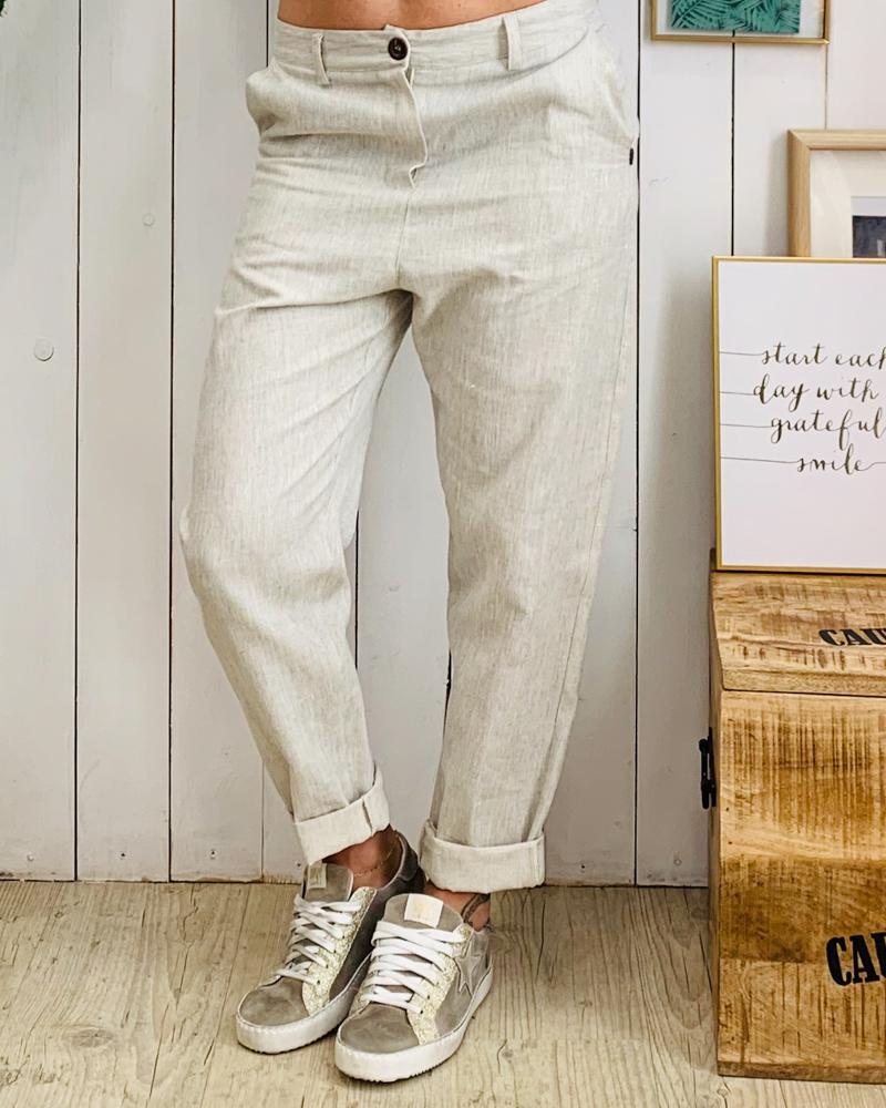 Pantalon LIVIO gris
