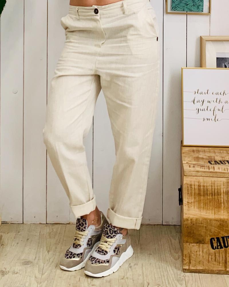 Pantalon LIVIO beige