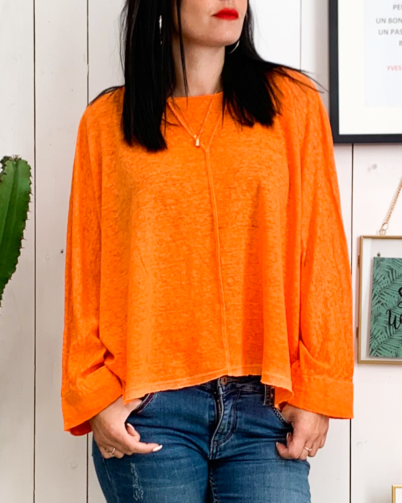 T-shirt CALVIN orange