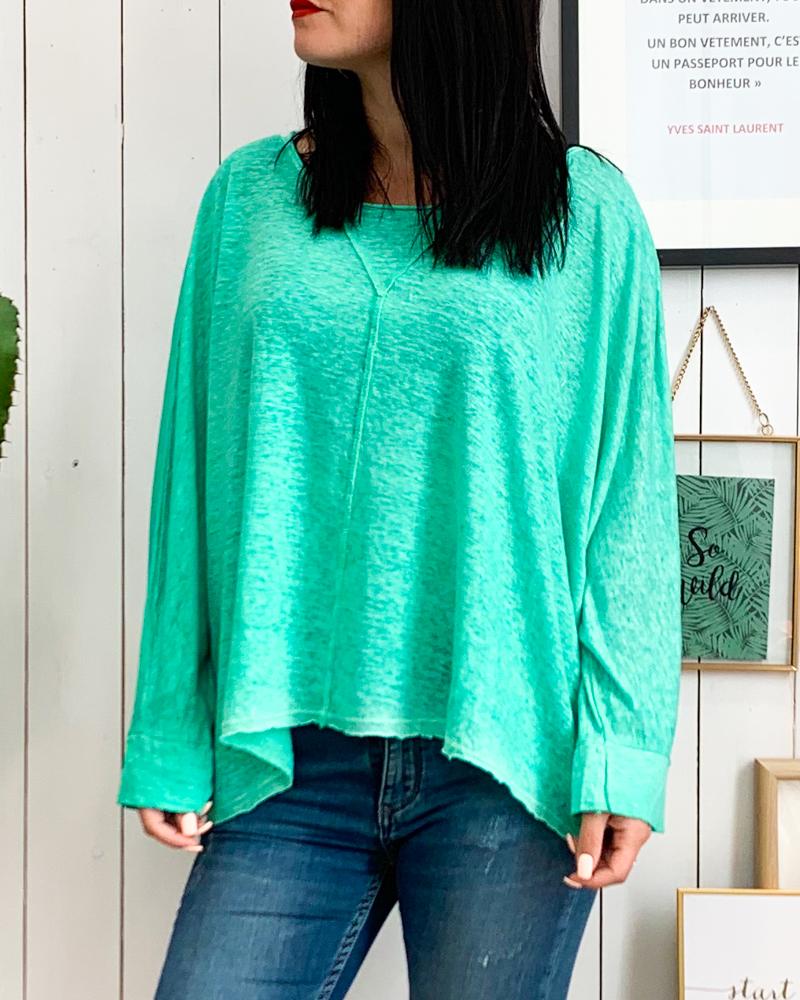 T-shirt CALVIN vert d\'eau