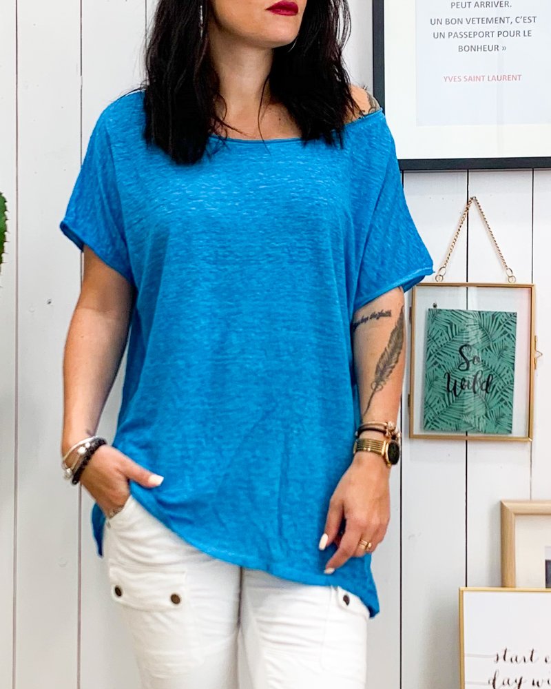 T-shirt JACK bleu