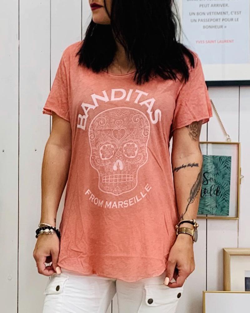 T-shirt FERRARA blush