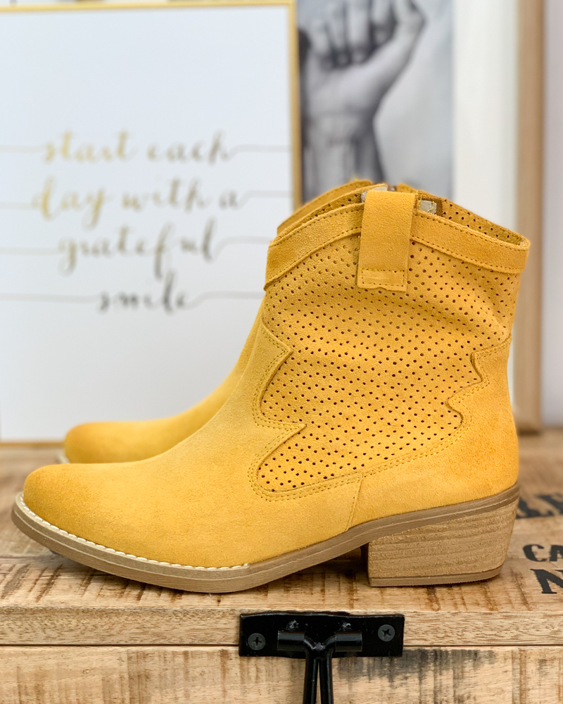 Boots CIAO jaune