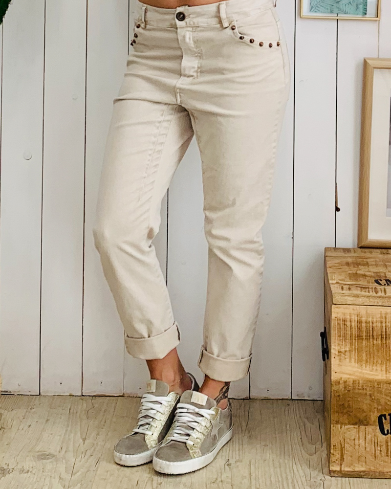 Pantalon PAOLO beige