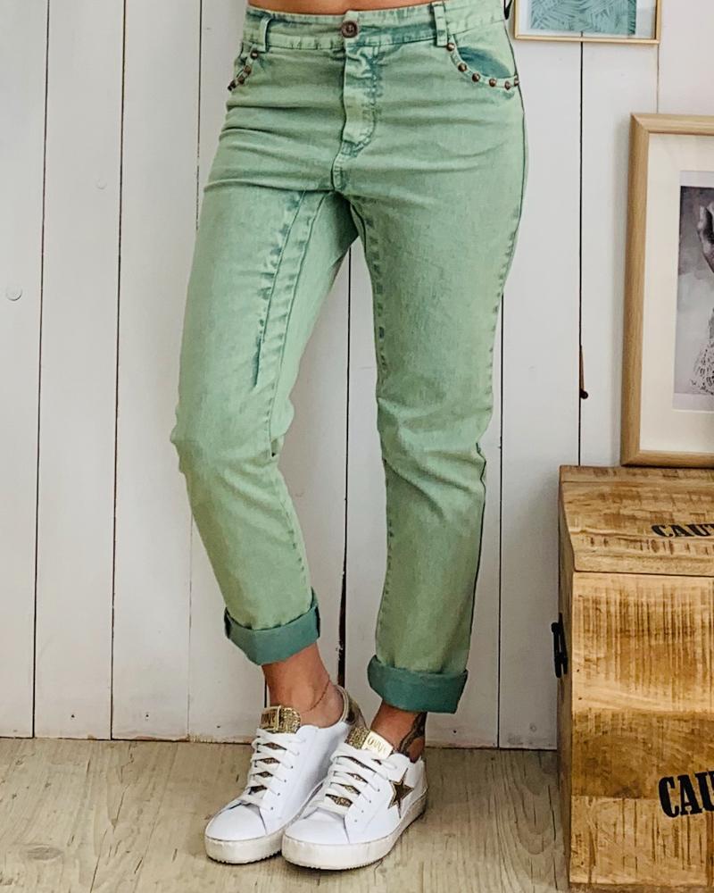 Pantalon PAOLO vert