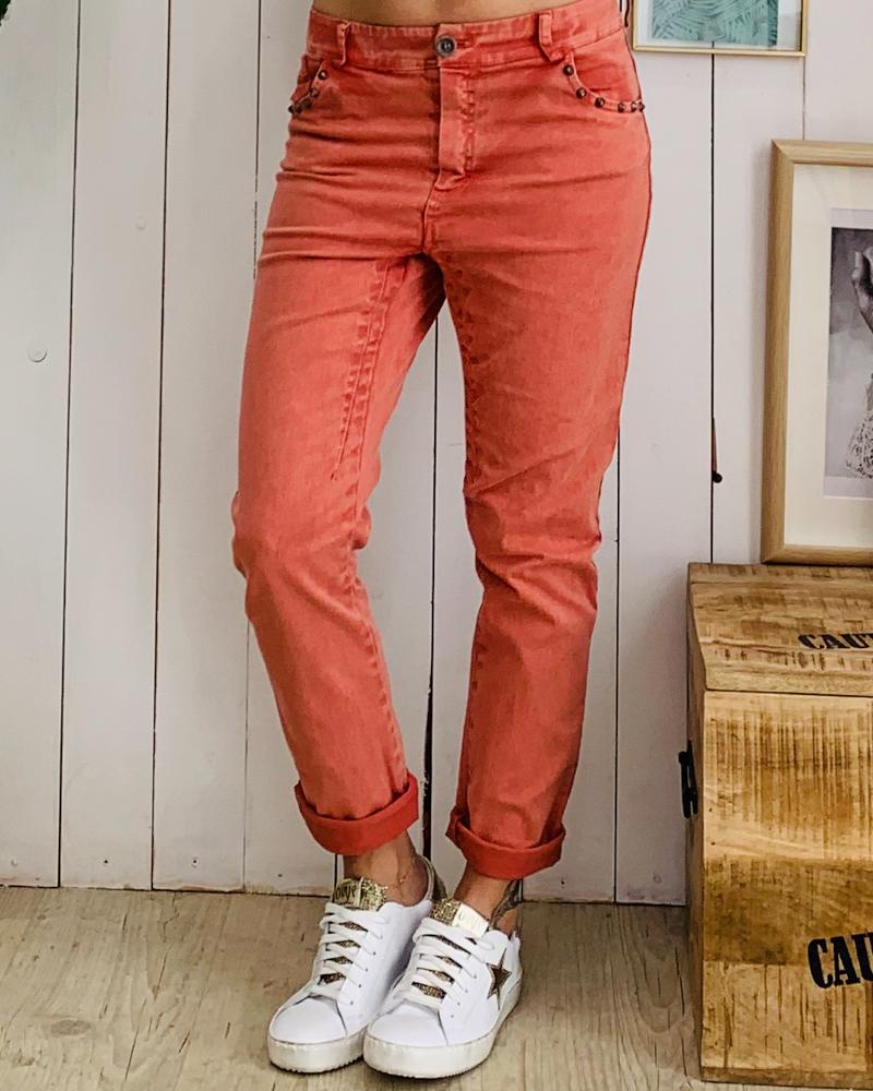 Pantalon PAOLO terracotta