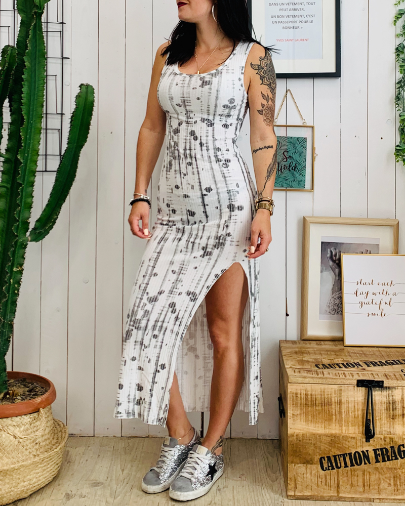 Robe ASSIA blanc