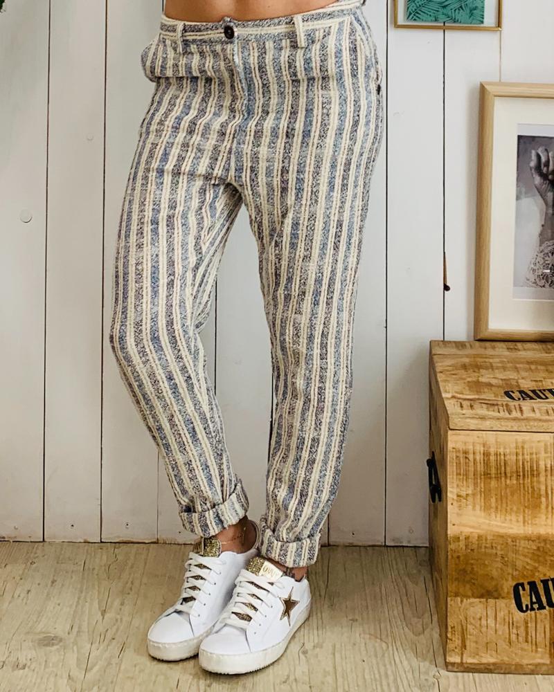 Pantalon HUGO bleu