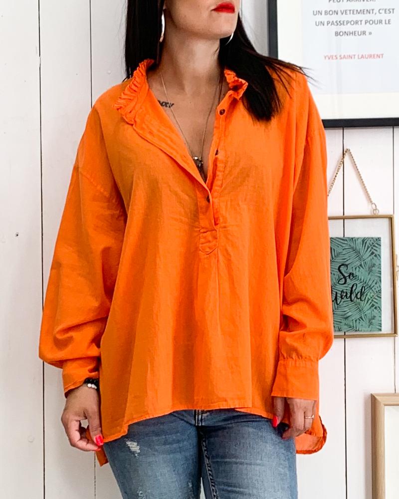 Tunique VIRGINIA orange