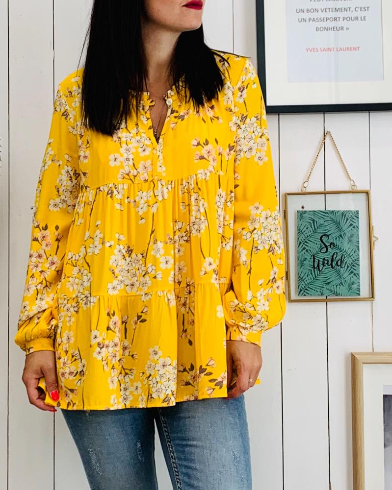 Tunique LUCIA jaune