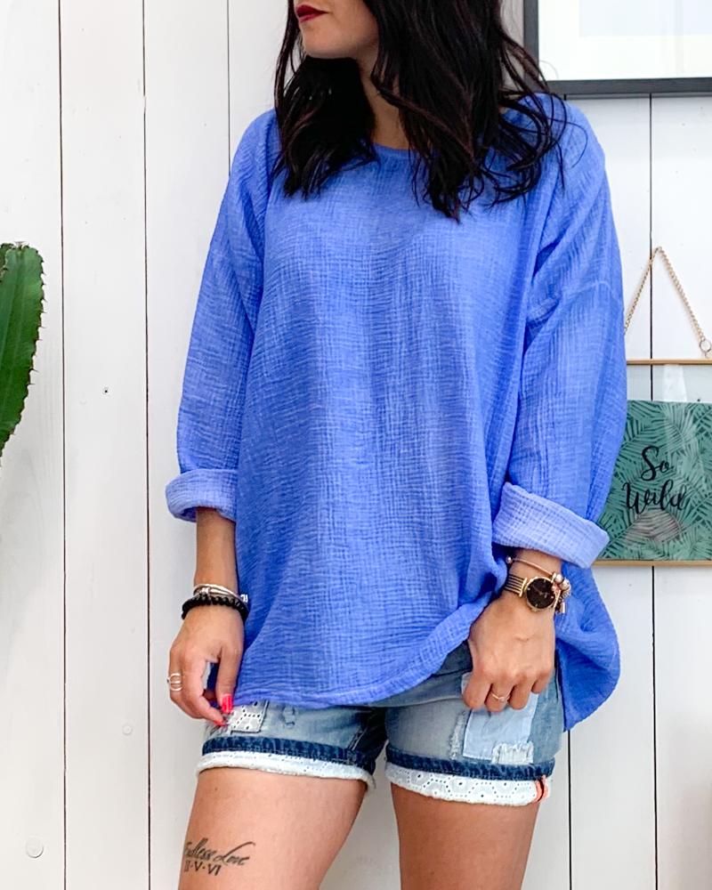 Tunique ISIA bleu
