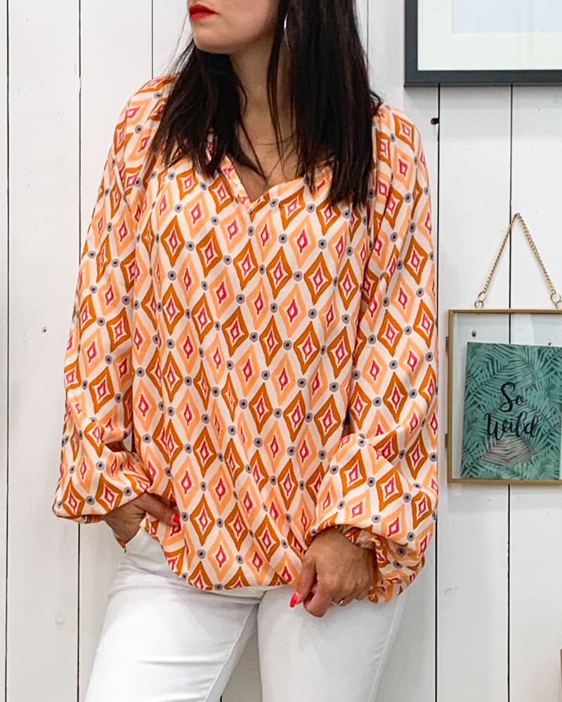 Blouse MALOU orange