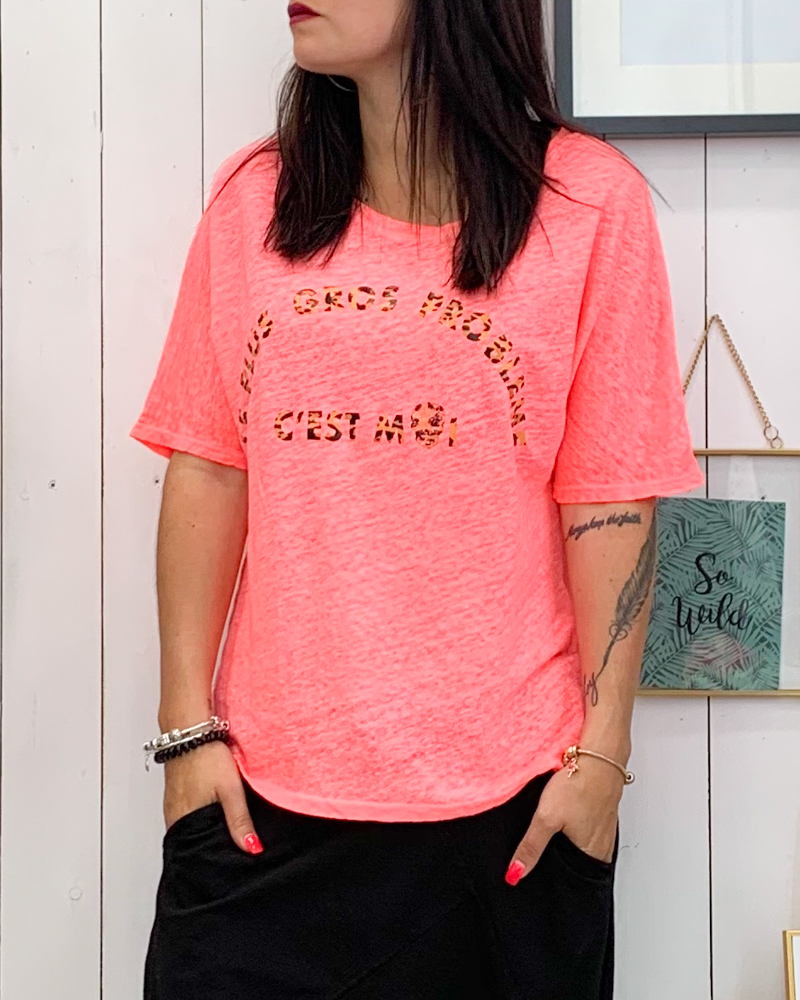 T-shirt SALINA rose