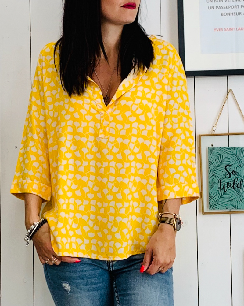 Blouse JENNIFER jaune