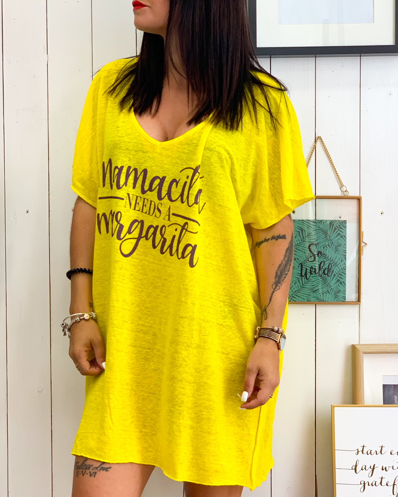 Tunique MAMACITA jaune