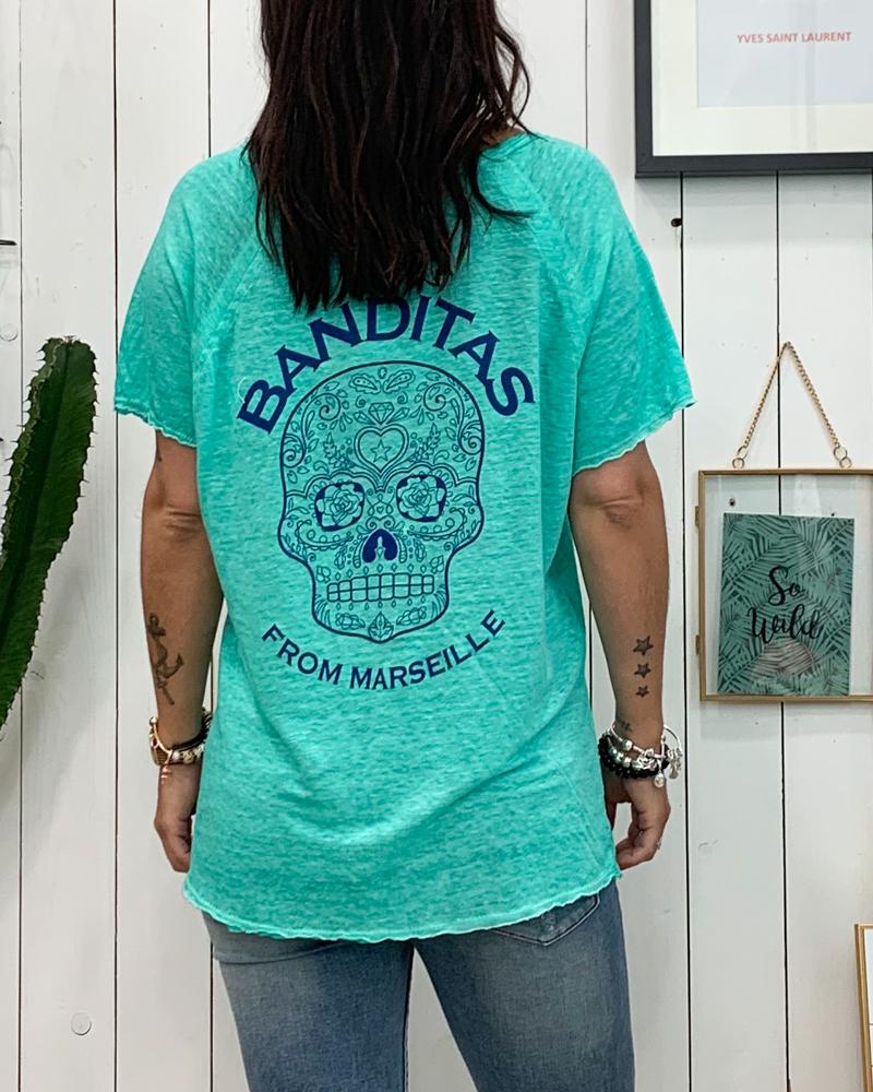 T-shirt SOANN vert d\'eau