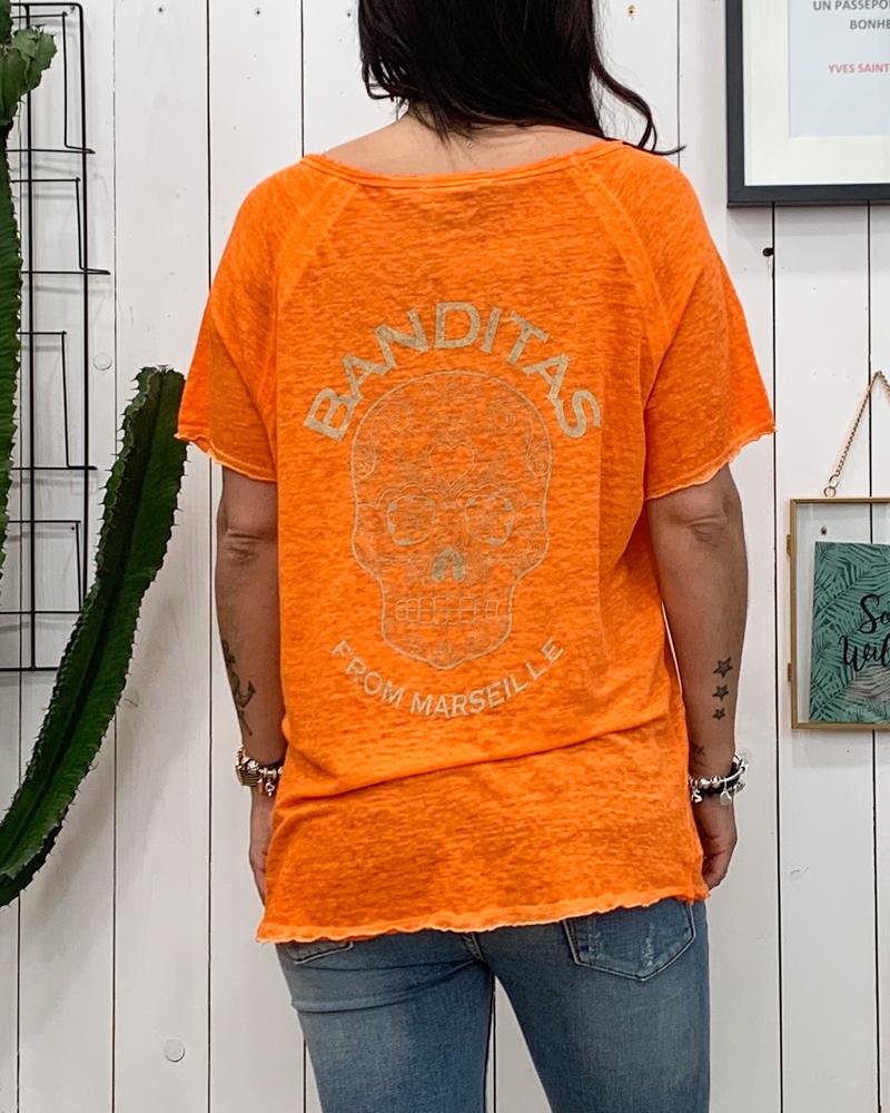 T-shirt SOANN orange