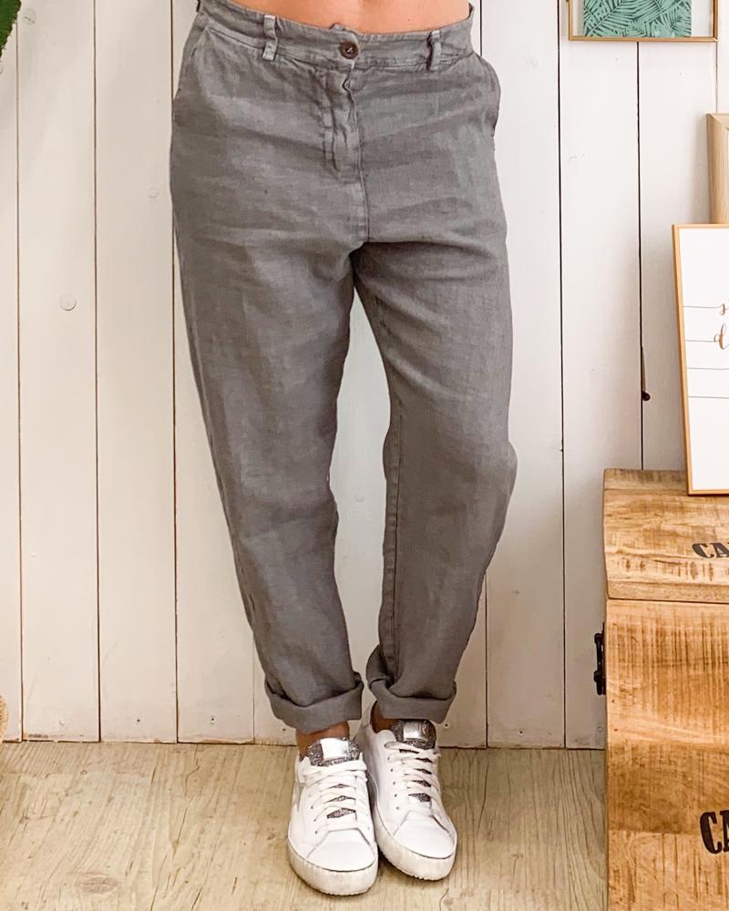 Pantalon MILO gris