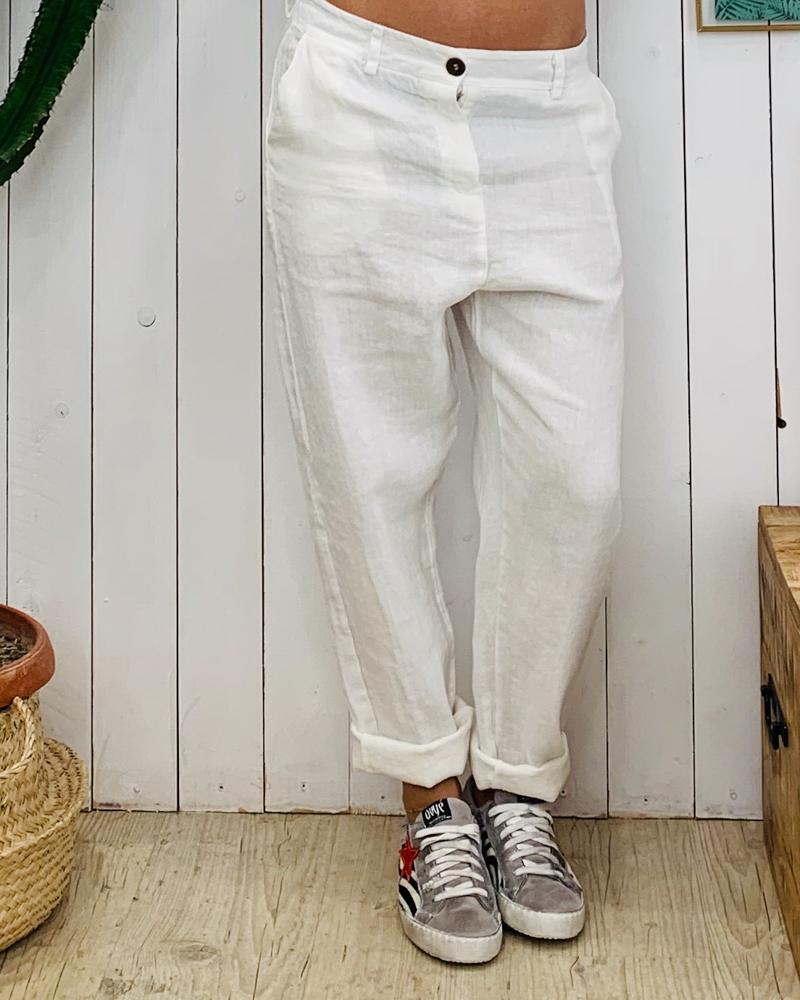 Pantalon MILO blanc
