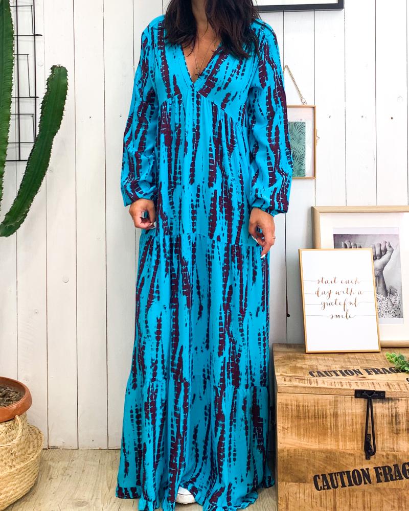 Robe ILDA turquoise
