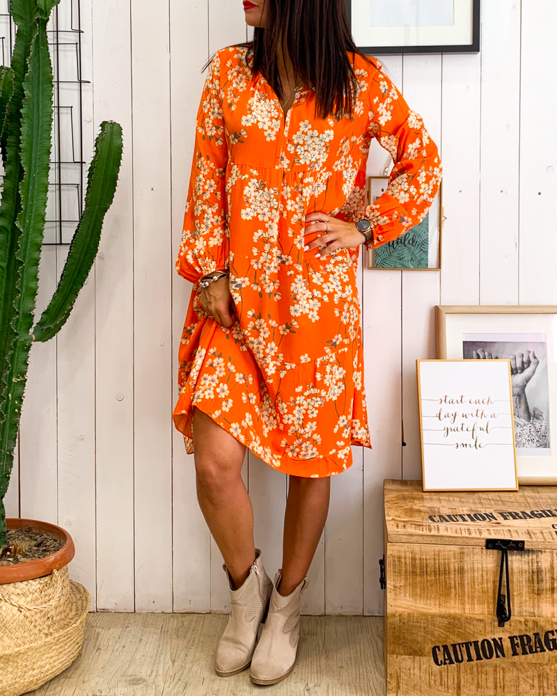 Robe STEFANI orange