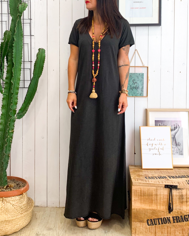 Robe DORIS noir