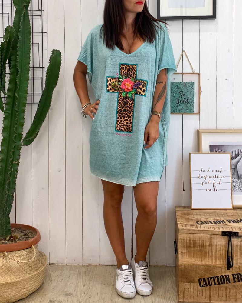 Tunique CROSS turquoise