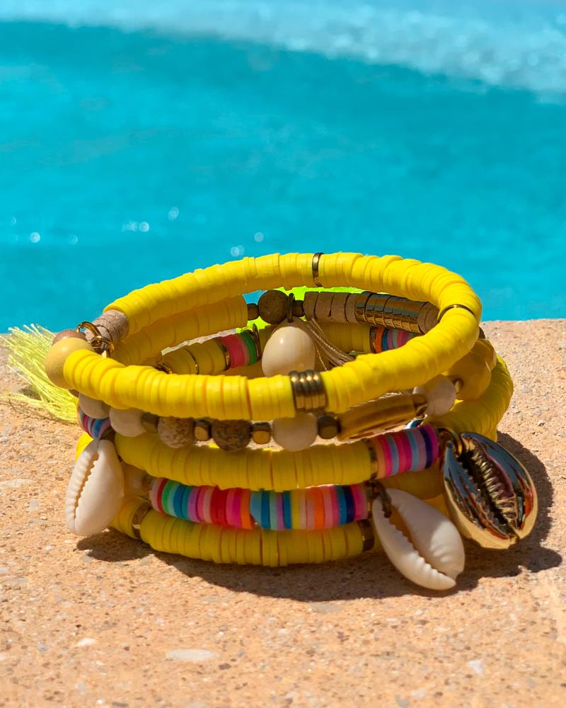 Bracelet SUMMER jaune
