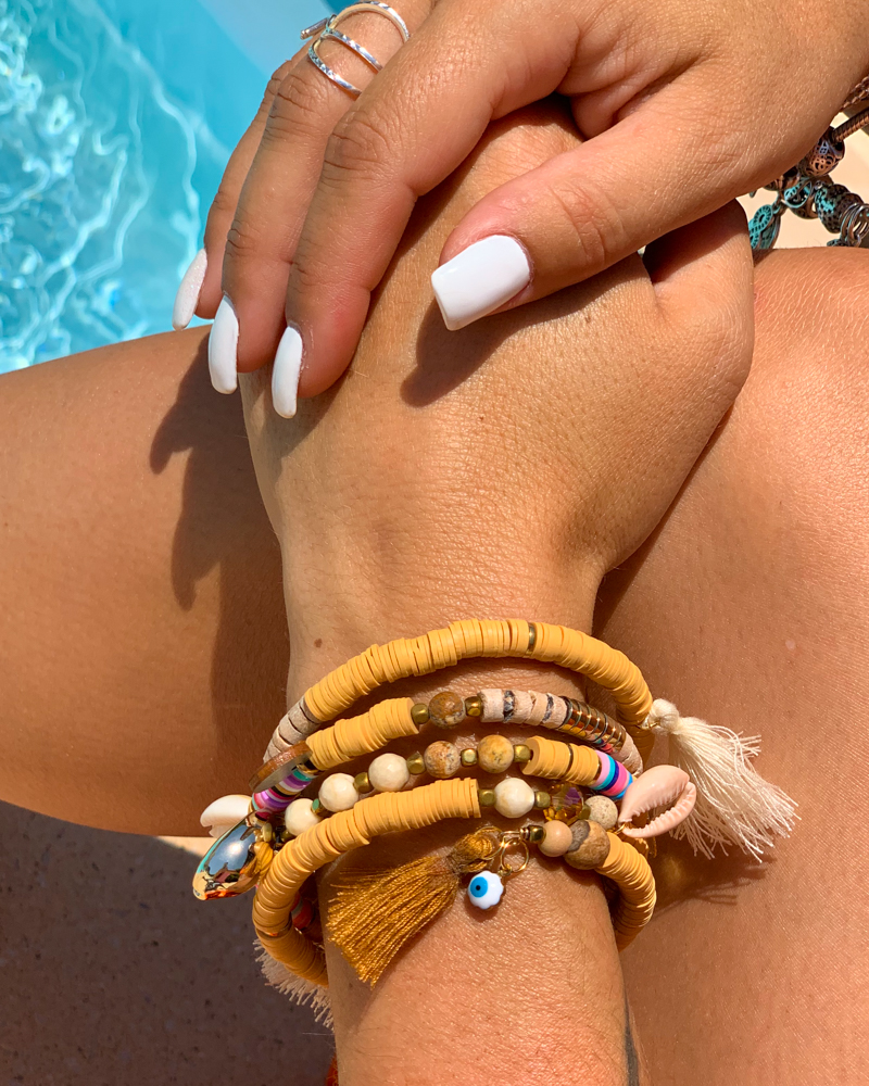 Bracelet SUMMER camel