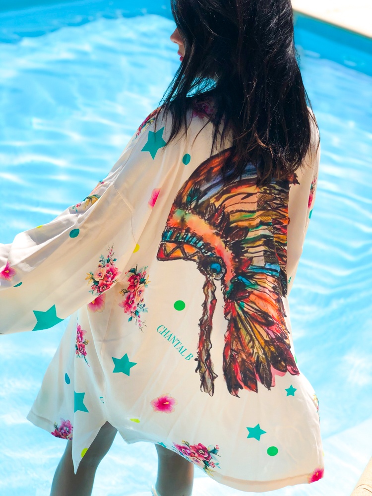 Kimono INDIANBOHO ecru