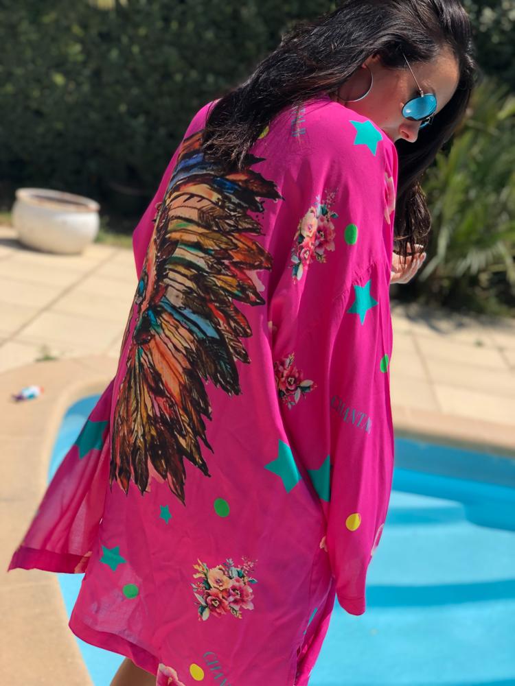 Kimono INDIANBOHO rose