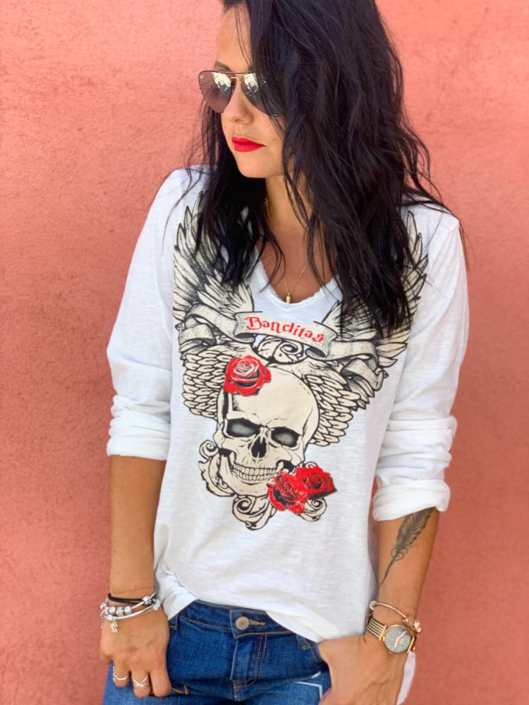 T-shirt GABRIEL blanc