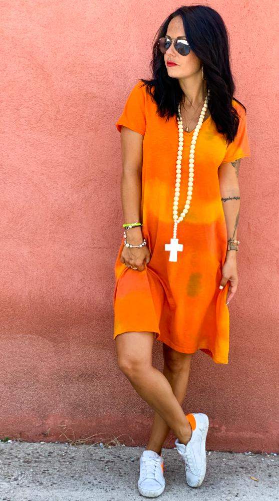 Robe ANDRIA orange
