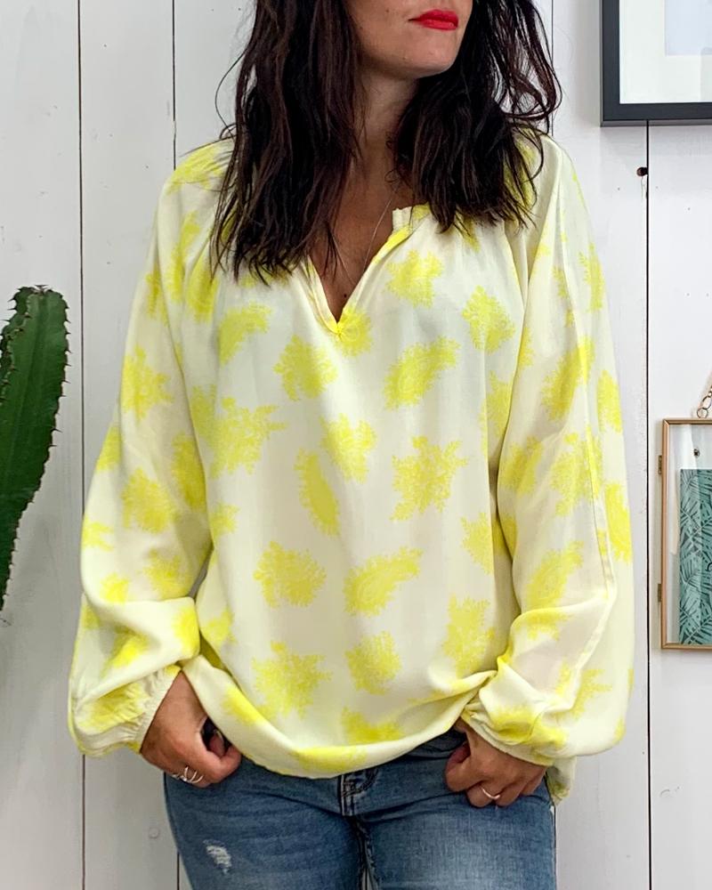 Blouse BIANCA jaune