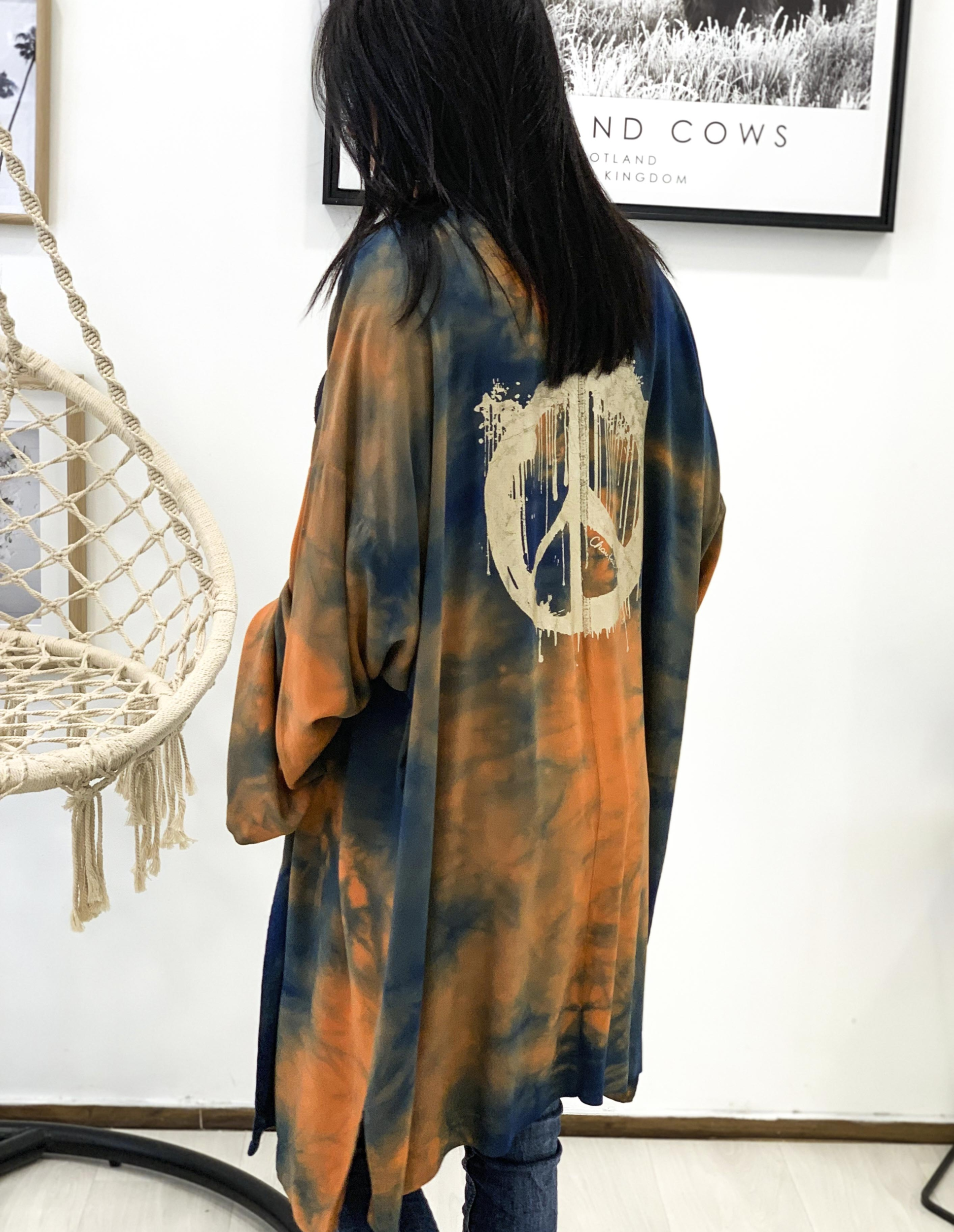 Kimono IMPERIA bleu