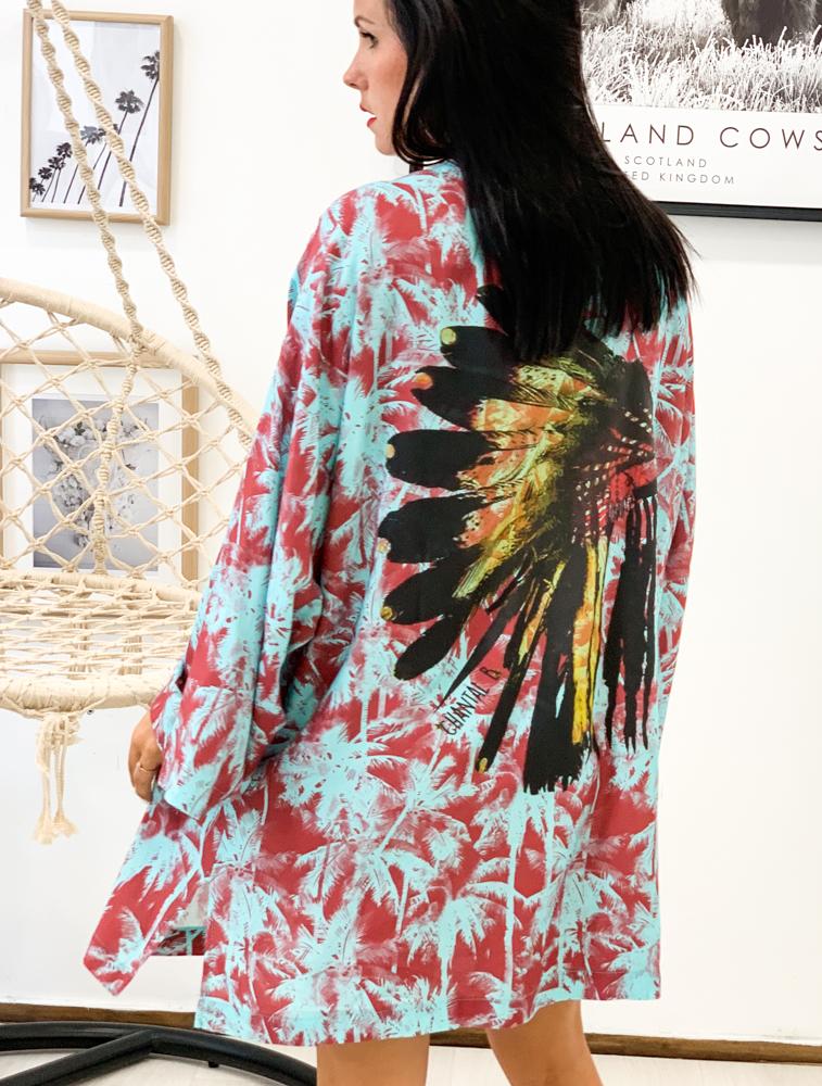 Kimono RICO turquoise