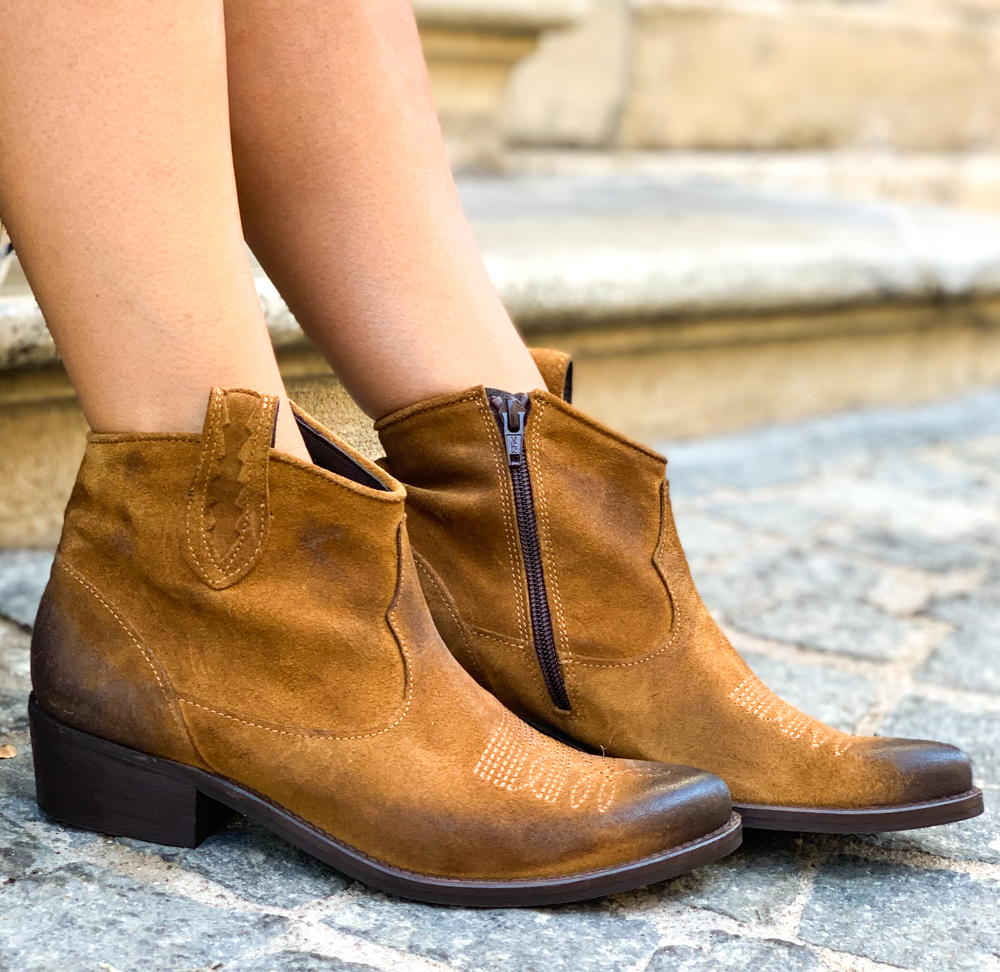 Bottines BERLIN camel