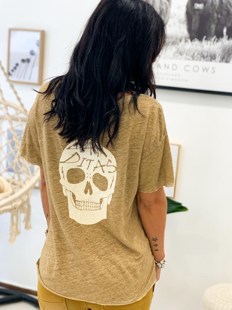 T-shirt Dalila camel