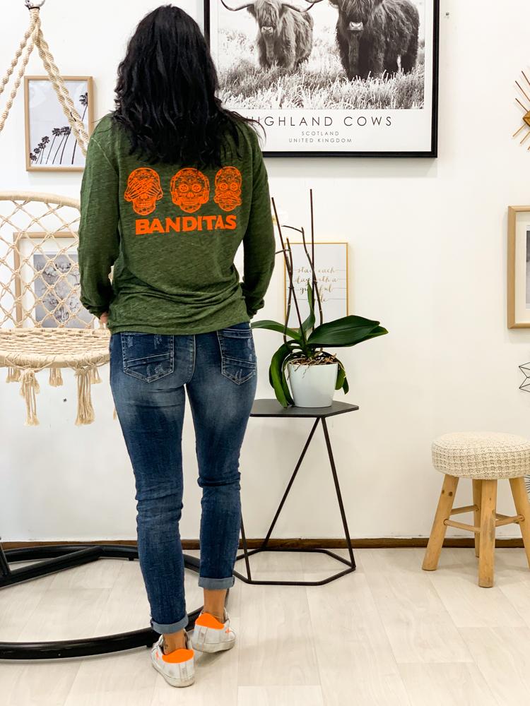 T-shirt ROULIO kaki