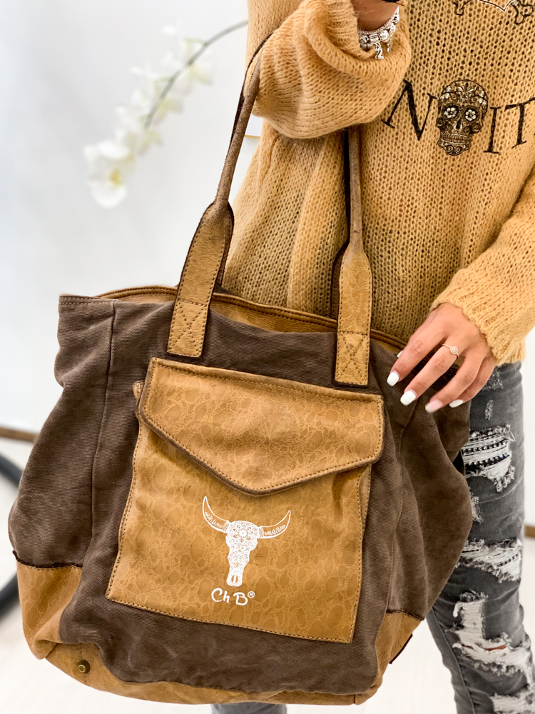 Sac DIEGO marron/camel