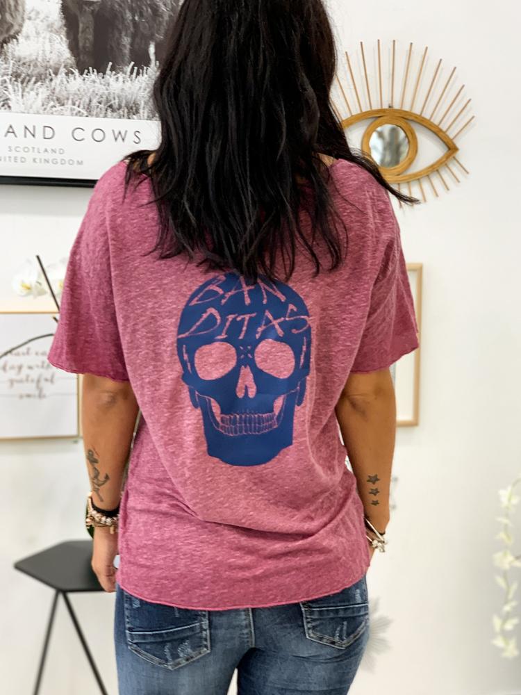 T-shirt Dalila mauve