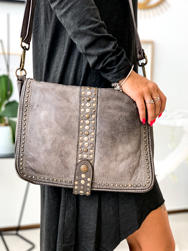 Sac bandoulière MILANO taupe