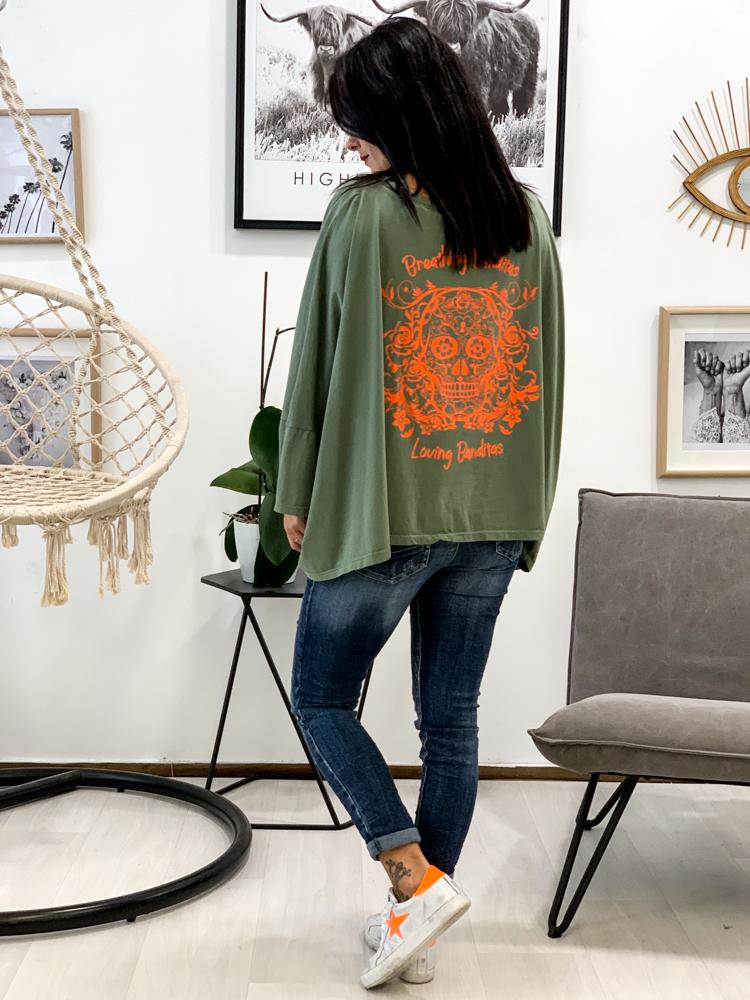 T-shirt BETTY kaki
