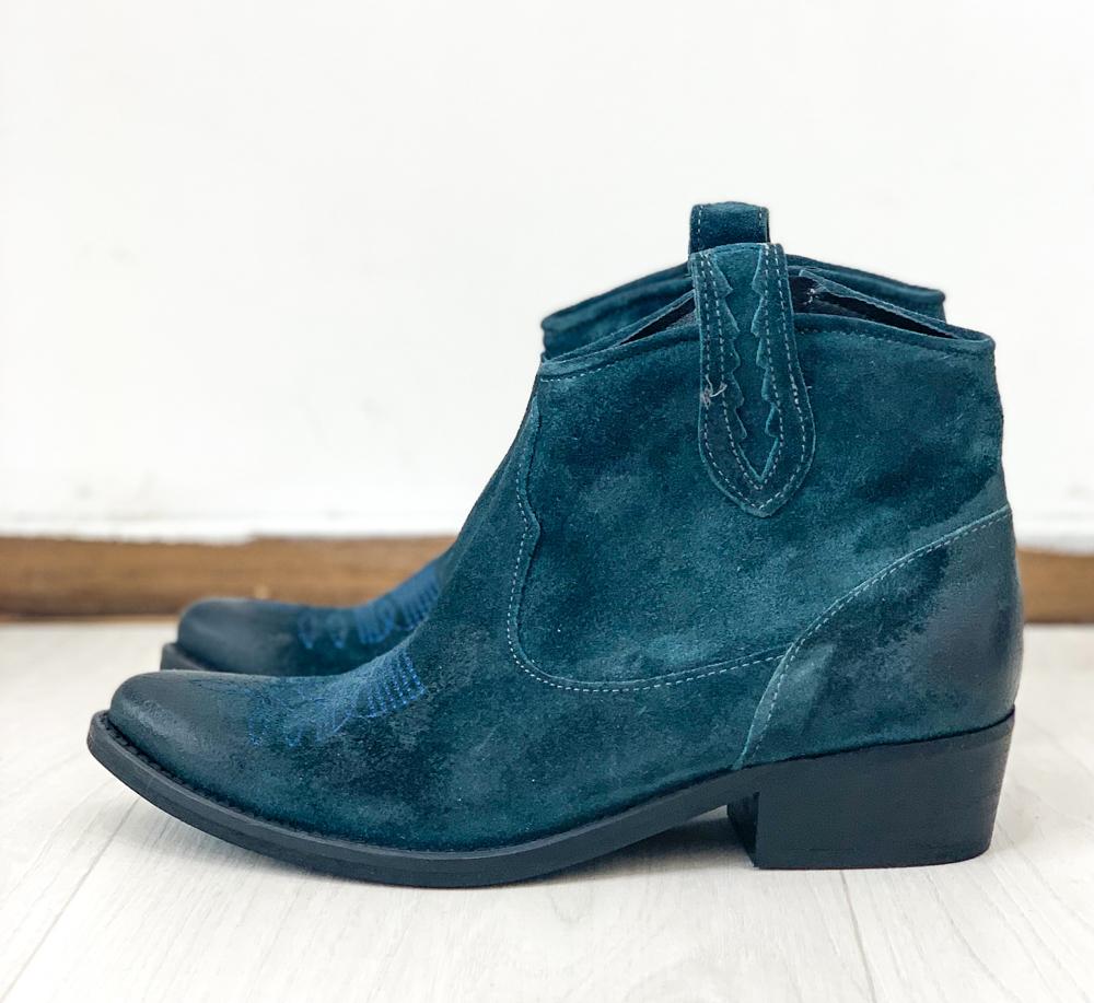Bottines BERLIN bleu