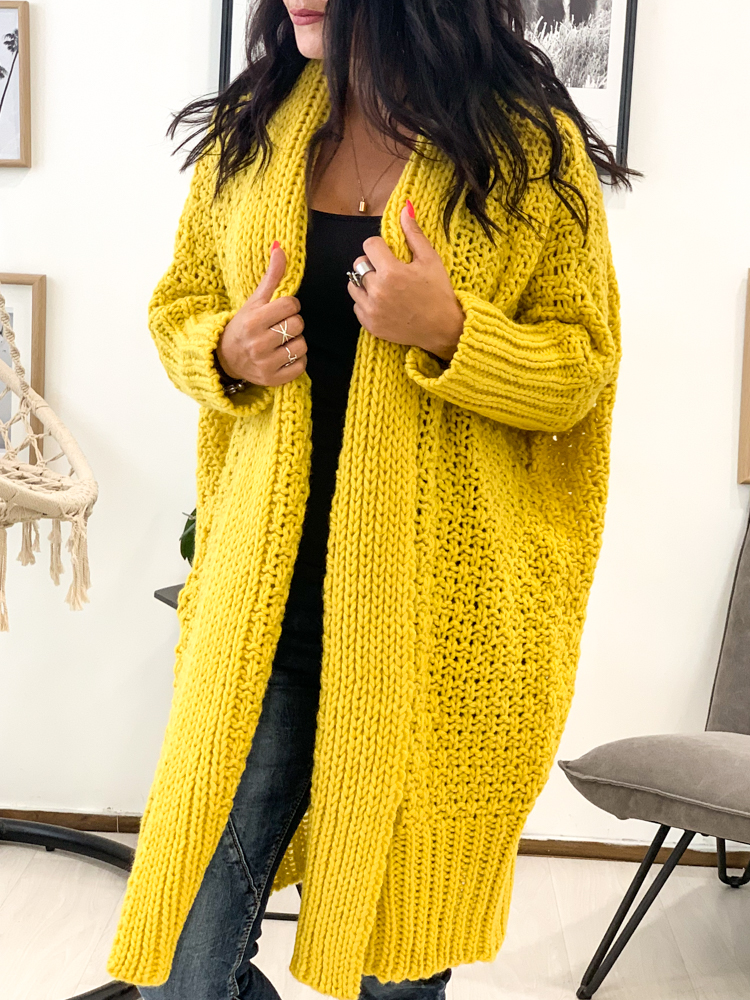 Gilet AZZURA jaune