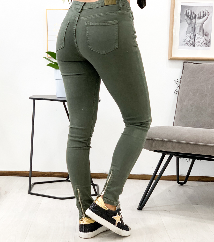 Pantalon LIAM kaki
