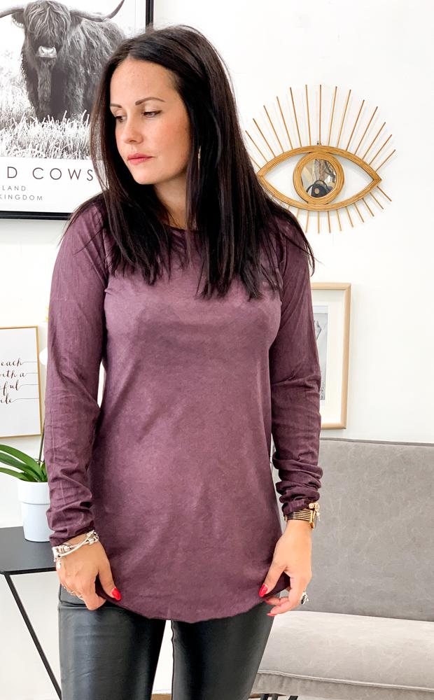 T-shirt CESENA violet